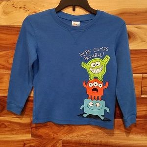 Circo Shirts & Tops - 3 long sleeve shirts, 5T